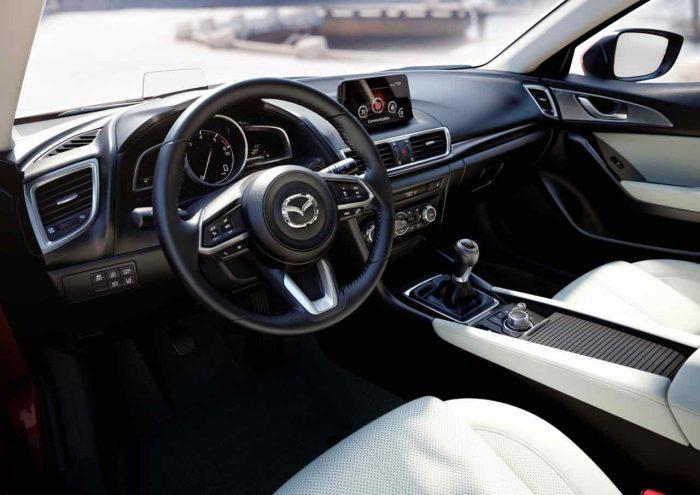 Mazda 3 Sedan 2017 interior
