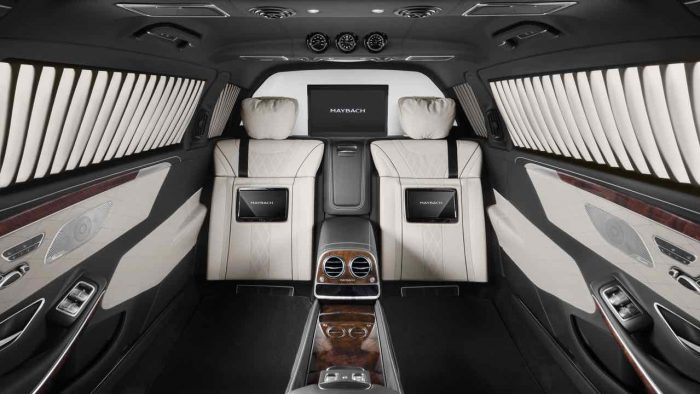 Mercedes-Maybach Pullamn Guard 2016 interior - 5
