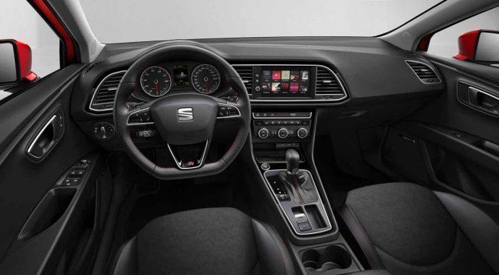 Seat Leon 2017 interior - 1
