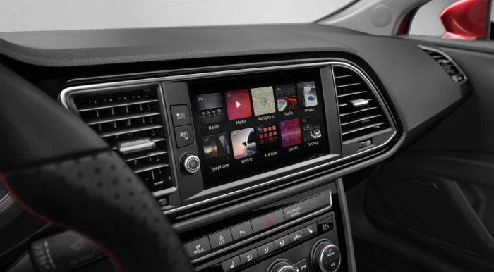 Seat Leon 2017 interior - 2