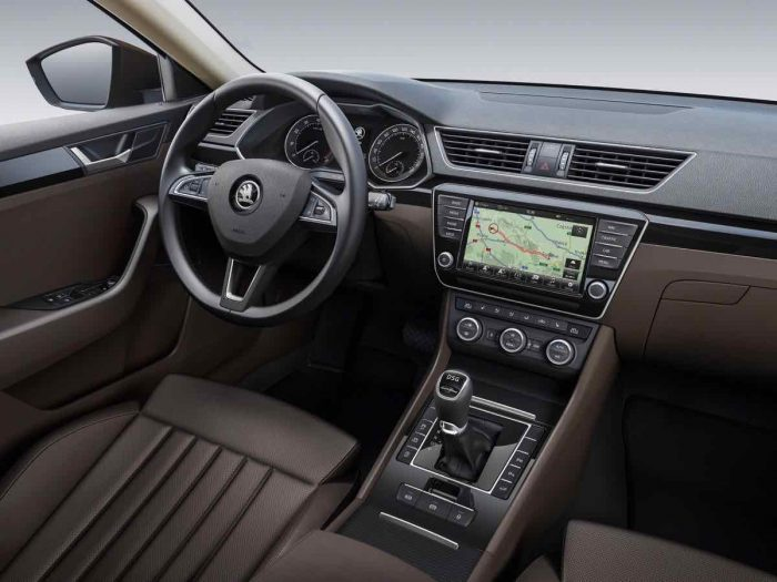 Skoda Superb Sportline 2016 interior - 1