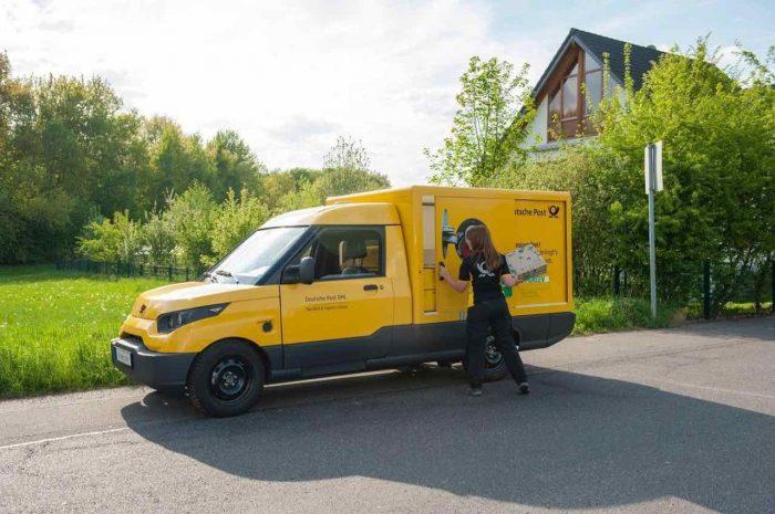 StreetScooter furgoneta electrica Deustche Post - 2
