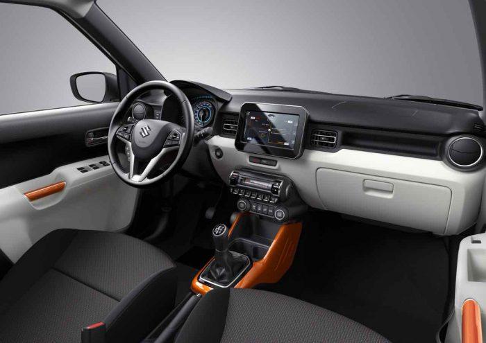 Suzuki Ignis 2017 interior - 1