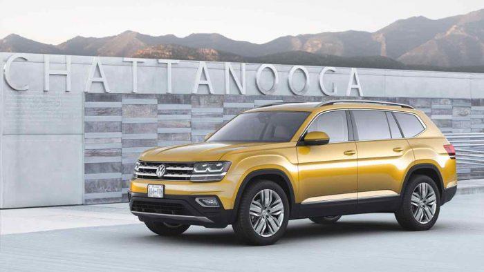 Volkswagen Atlas USA 2018