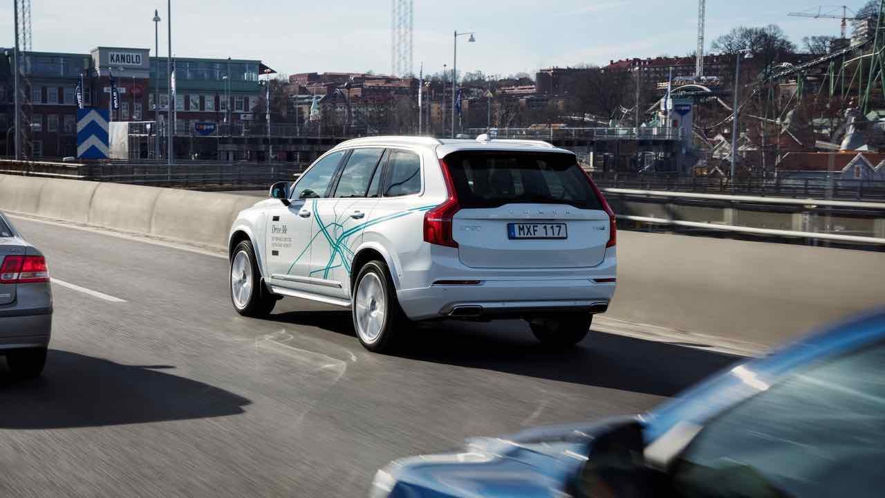 Volvo XC90 proyecto Drive Me coches autonomos – 2