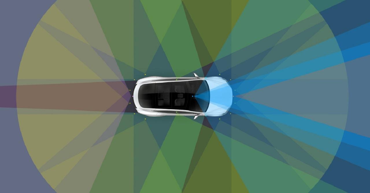 sensores de Tesla