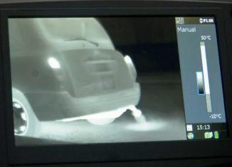 cámara infrarroja Flir