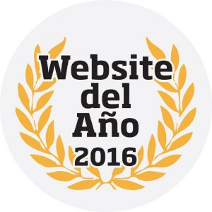 logo website del año