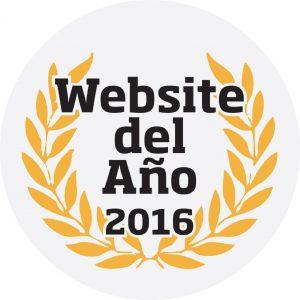 logo website del año