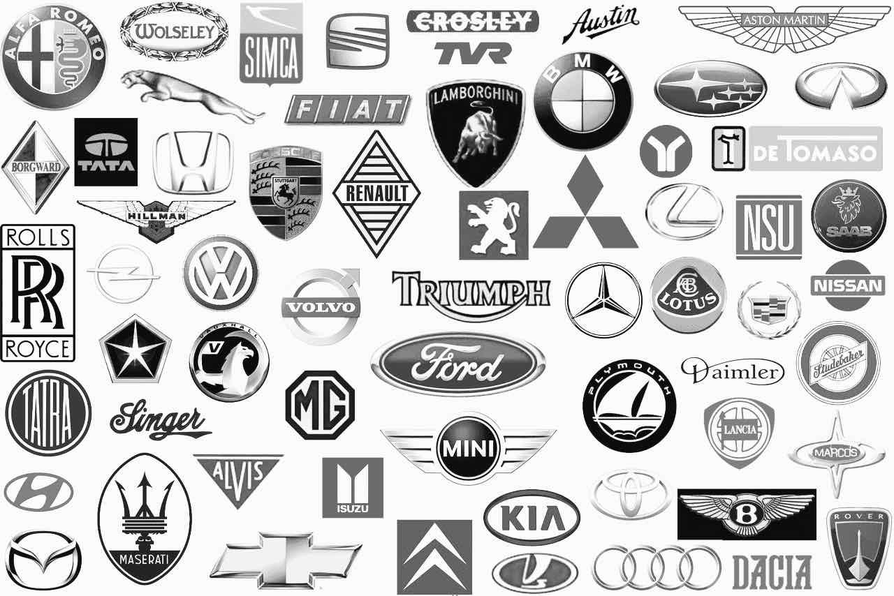 logos marcas coches bn – 1