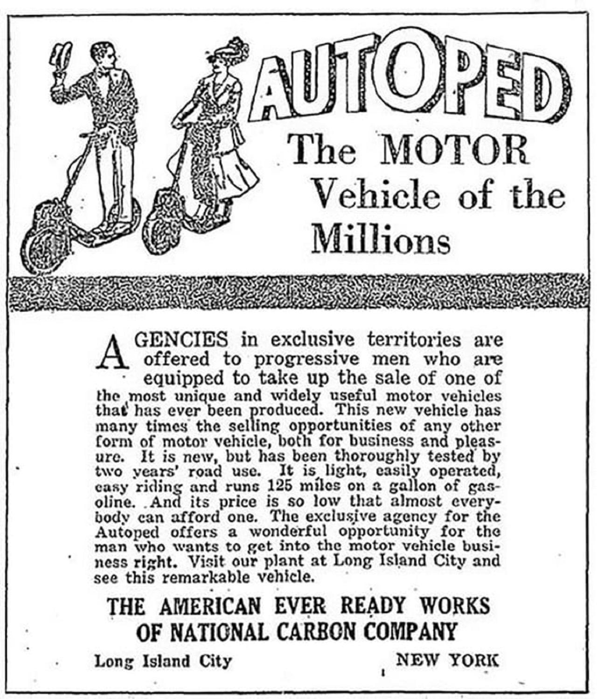 publicidad autoped 1916
