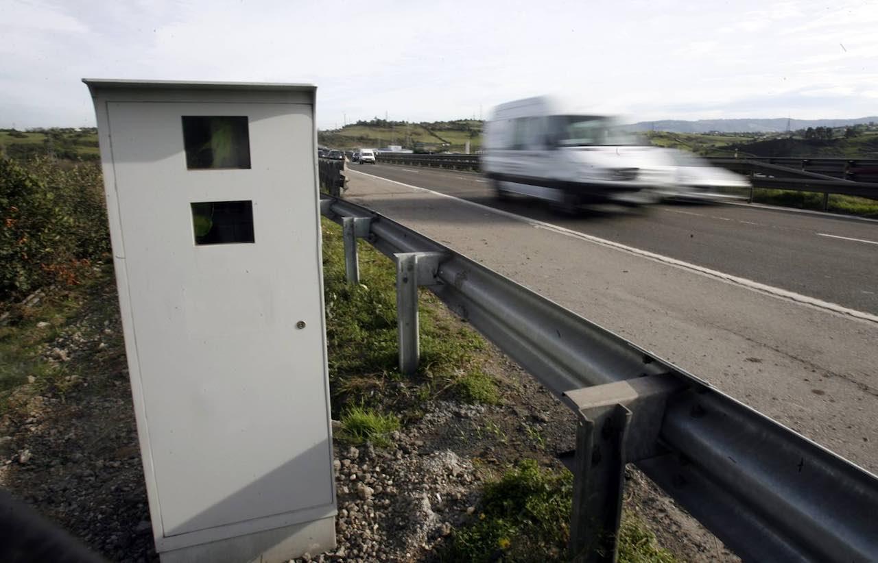 radar fijo carretera