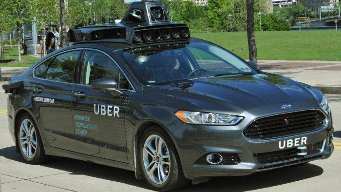 taxi uber autonomo