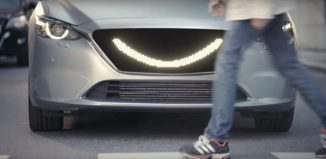 the smiling car
