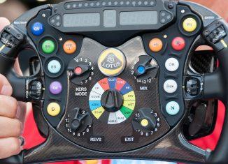 volante coche F1