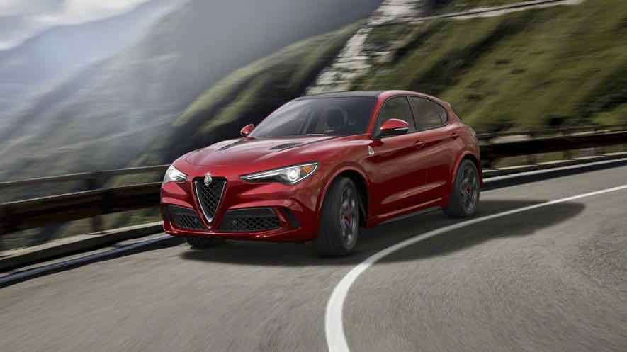alfa romeo stelvio quadrifoglio verde el suv m s deportivo. Black Bedroom Furniture Sets. Home Design Ideas