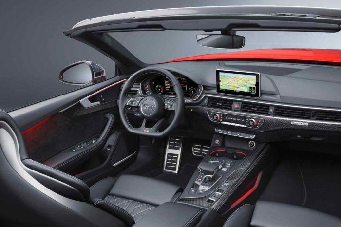 Audi S5 Cabriolet 2017 interior
