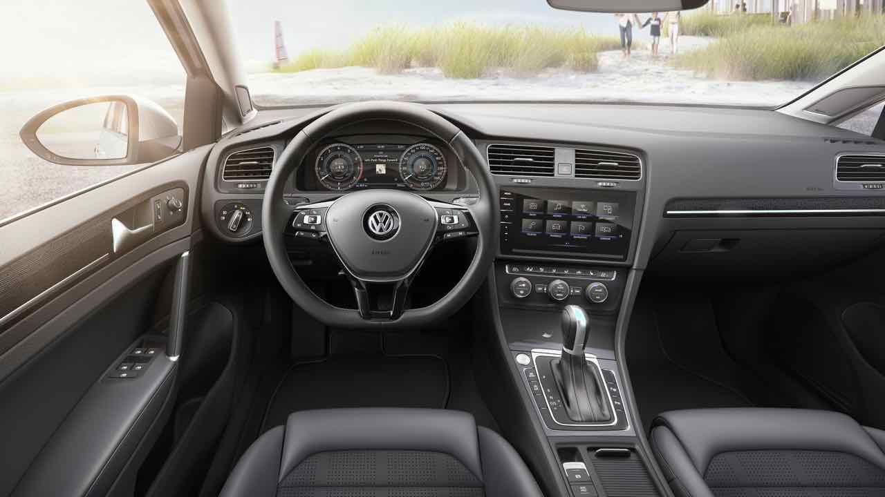Volkswagen golf 2017 el retorno del rey for Interior golf variant