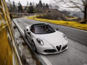 Alfa Romeo 4C Spider USA  2015