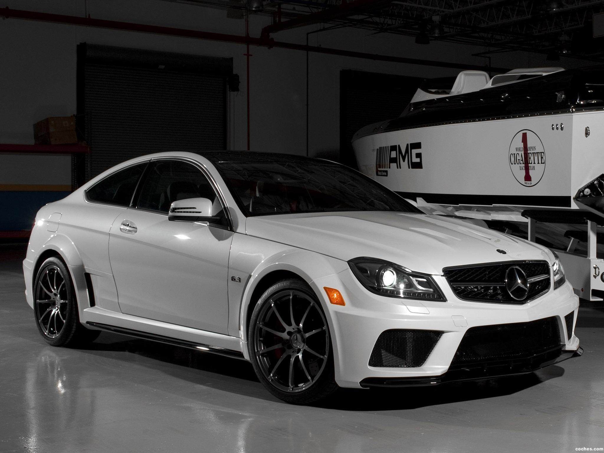 Fotos De Mercedes Clase C Amg C63 Black Series Coupe Usa 2012