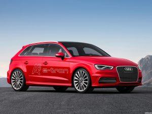 Audi A3 e-Tron Prototype 2013