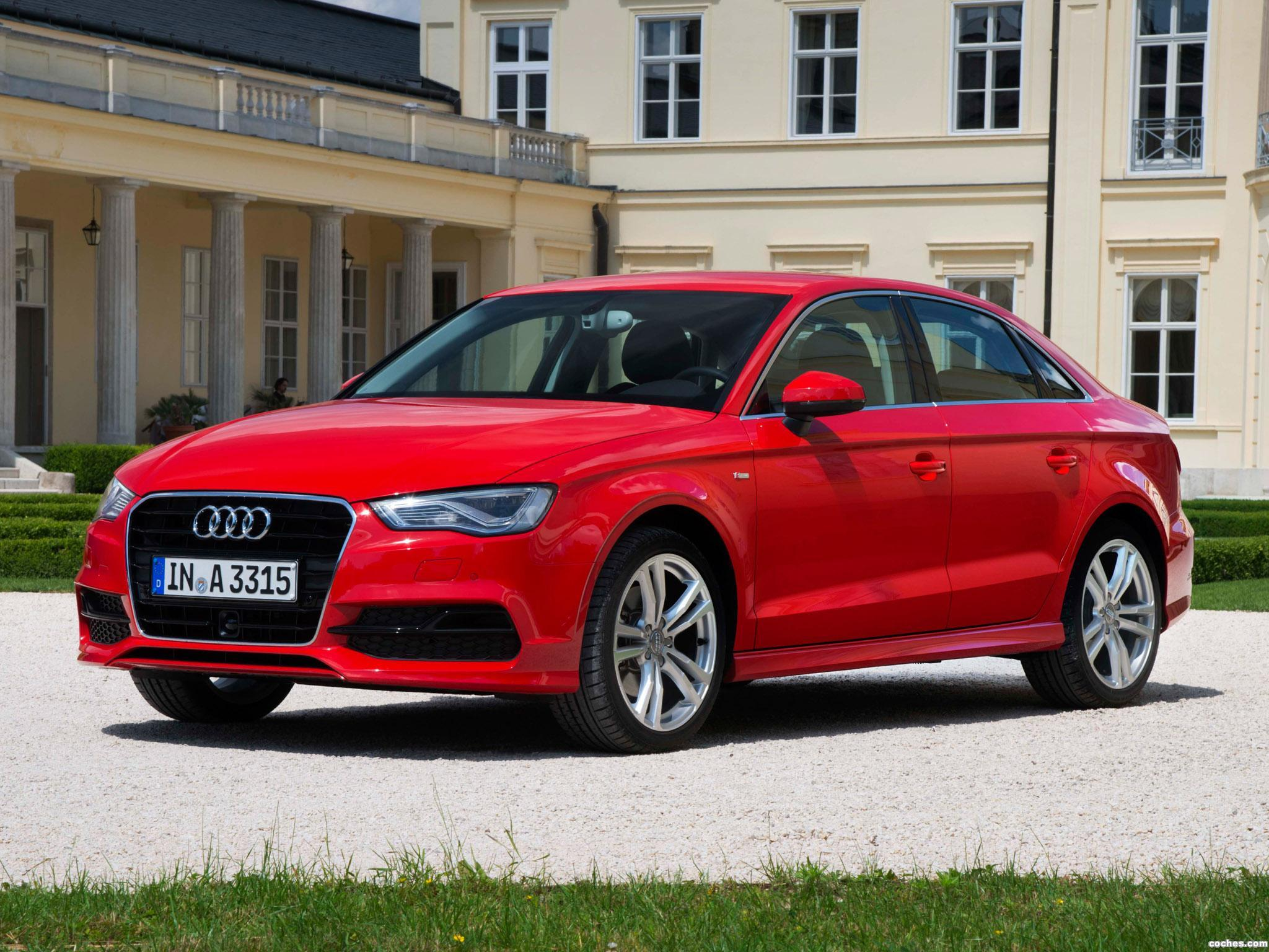 fotos de audi a3 sedan 1 8 t s line 2013. Black Bedroom Furniture Sets. Home Design Ideas