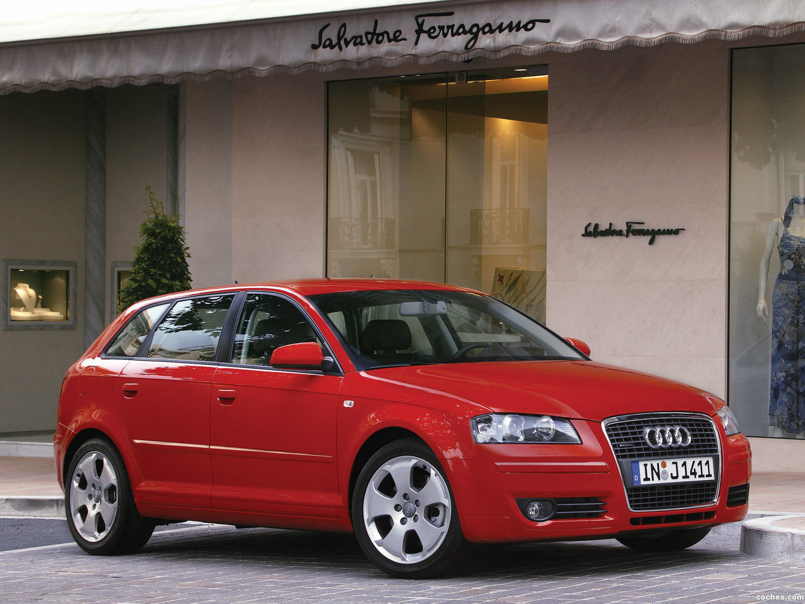 fotos de audi a3 sportback 2005. Black Bedroom Furniture Sets. Home Design Ideas