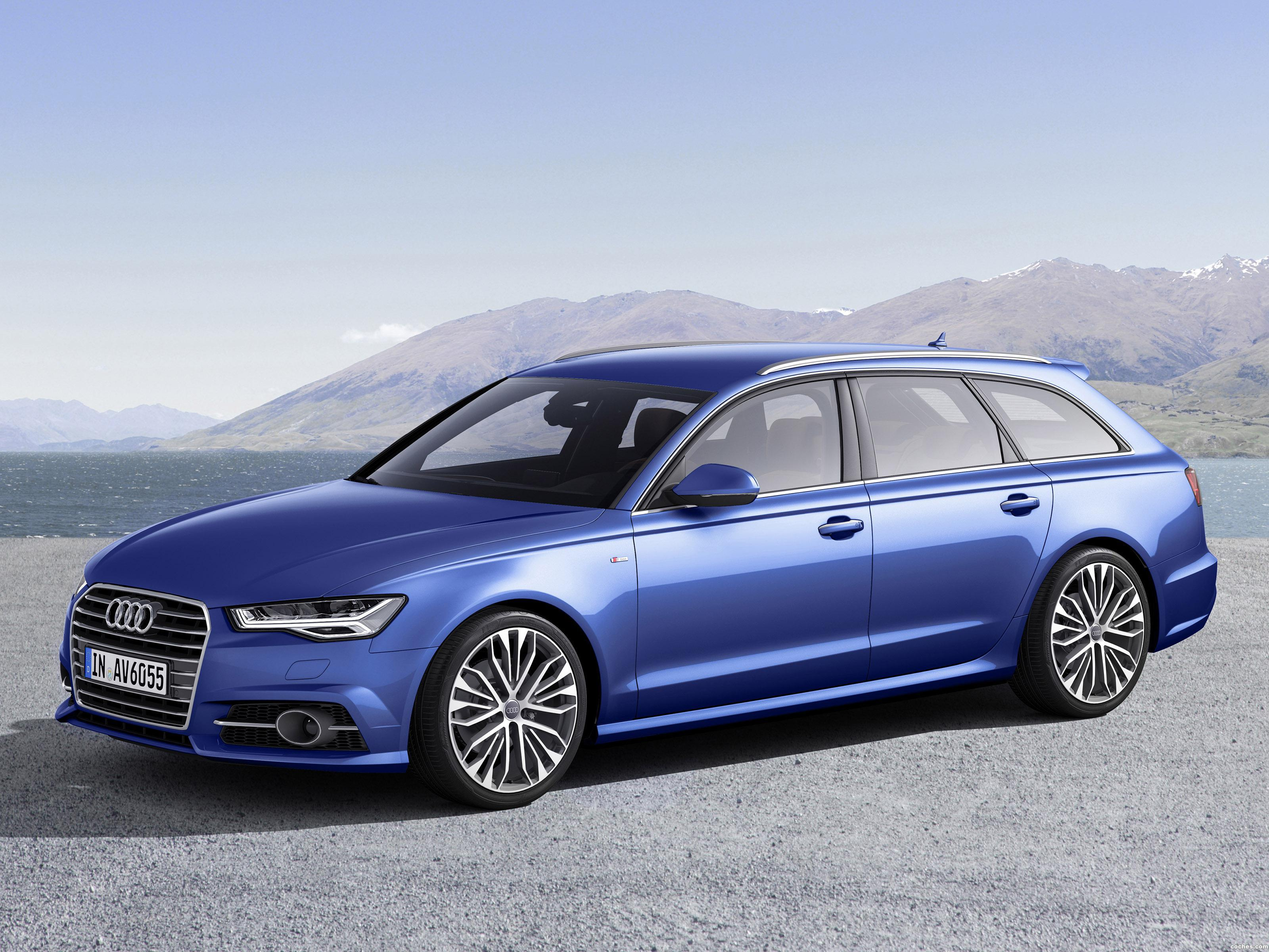 fotos de audi a6 avant tdi ultra s line 2015. Black Bedroom Furniture Sets. Home Design Ideas