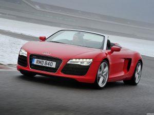 Audi R8 Spyder UK 2013