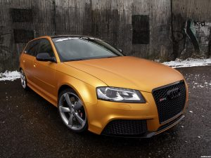 Audi RS3 Sportback Gold Orange by Schwabenfolia 2013