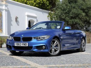 BMW Serie 4 Cabrio M Sport Package F33 UK 2014