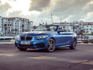 BMW M235i Cabrio F23 UK 2015