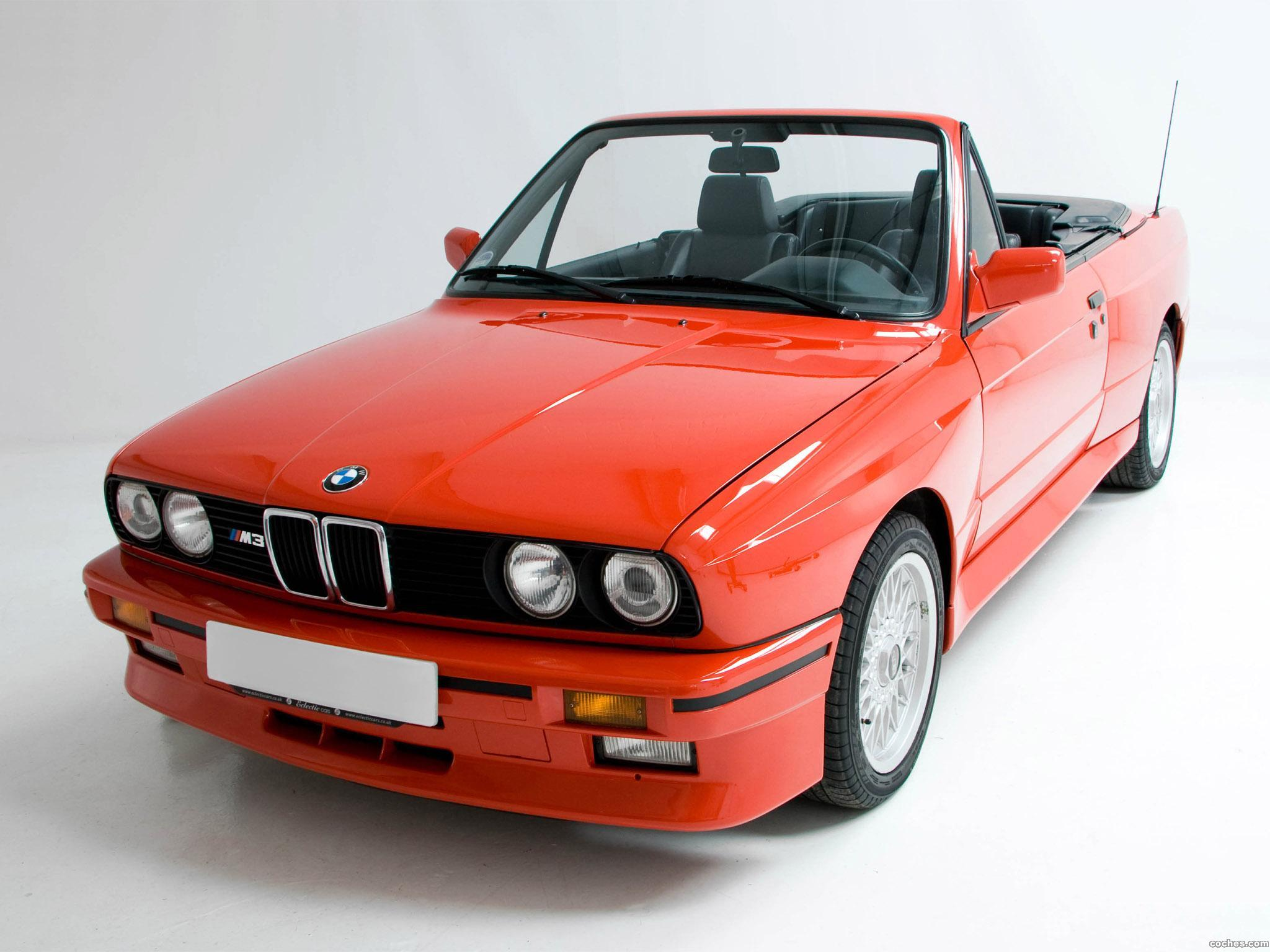 fotos de bmw m3 cabrio e30 1988. Black Bedroom Furniture Sets. Home Design Ideas