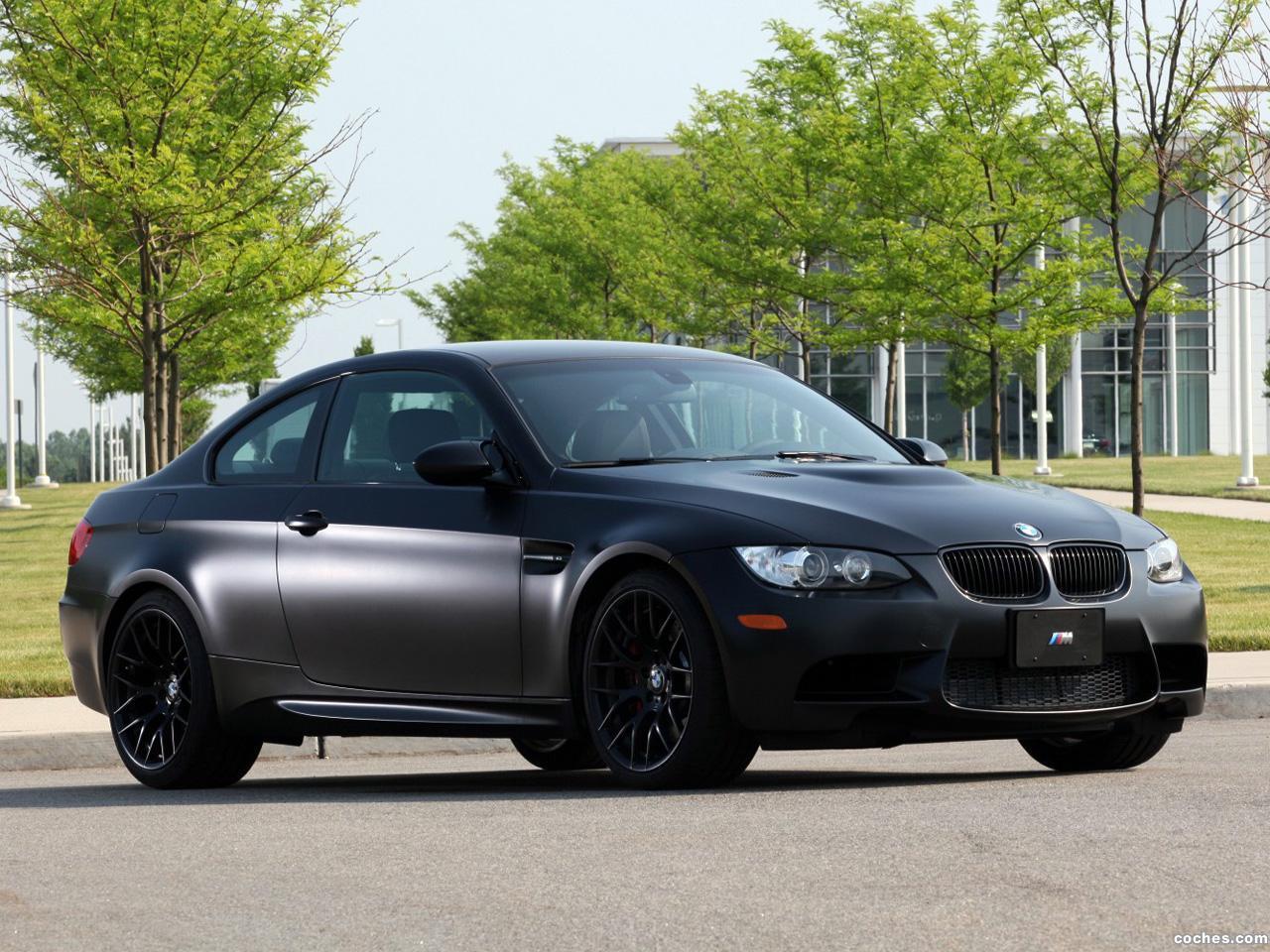 Fotos De Bmw M3 Coupe Frozen Black Edition E92 2011