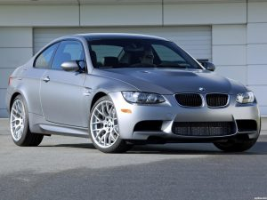 BMW M3 Frozen Gray Coupe 2010
