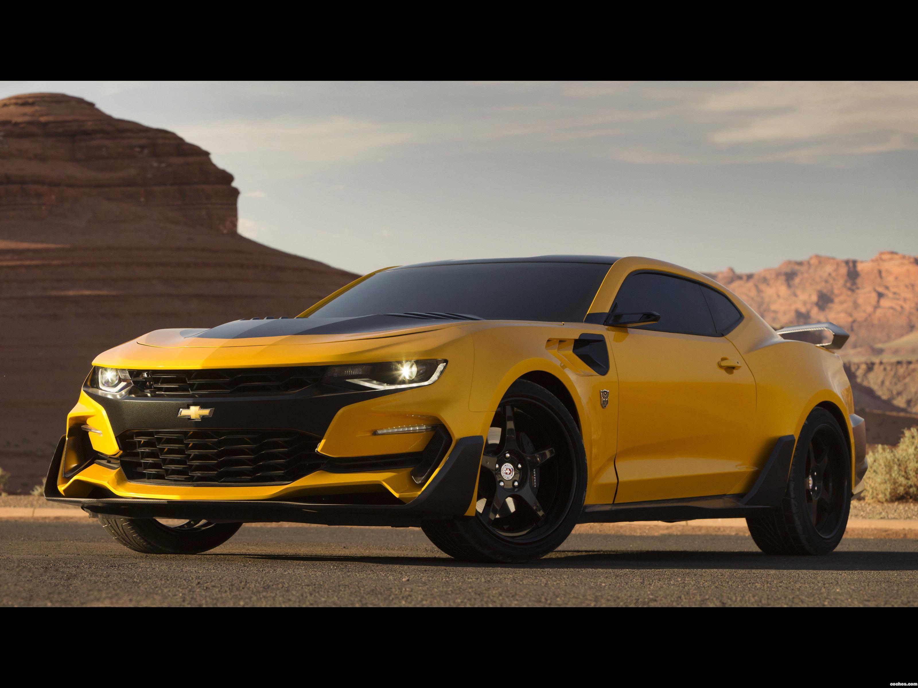 Fotos De Chevrolet Camaro Bumblebee 2017