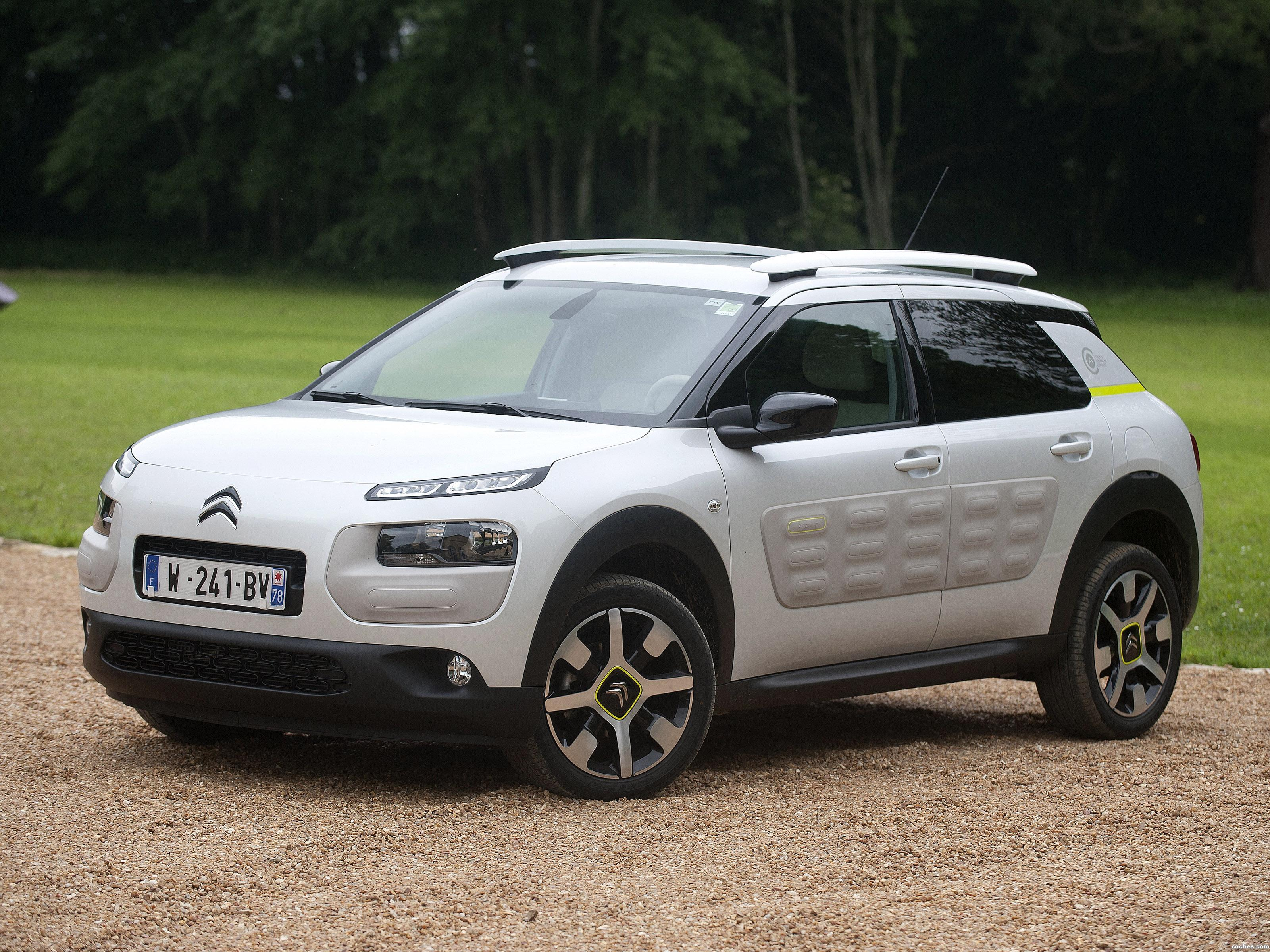fotos de citroen c4 cactus advanced comfort lab prototype 2016. Black Bedroom Furniture Sets. Home Design Ideas