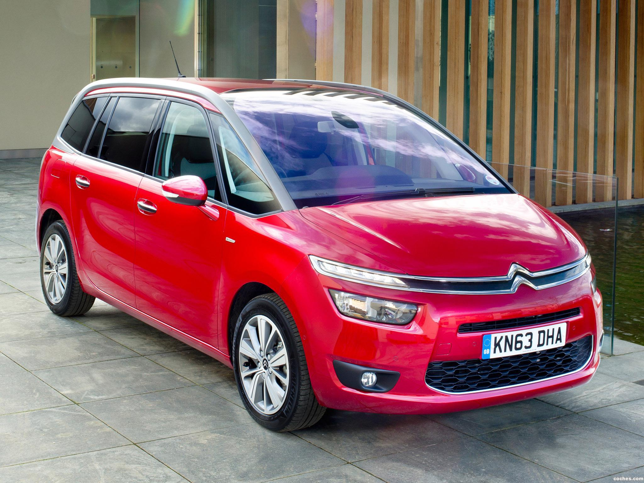 fotos de citroen c4 grand picasso uk 2014. Black Bedroom Furniture Sets. Home Design Ideas