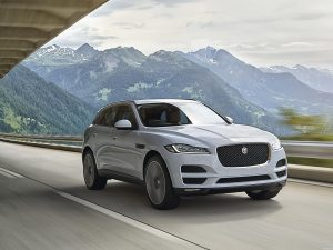 Jaguar F-Pace Portfolio UK 2016