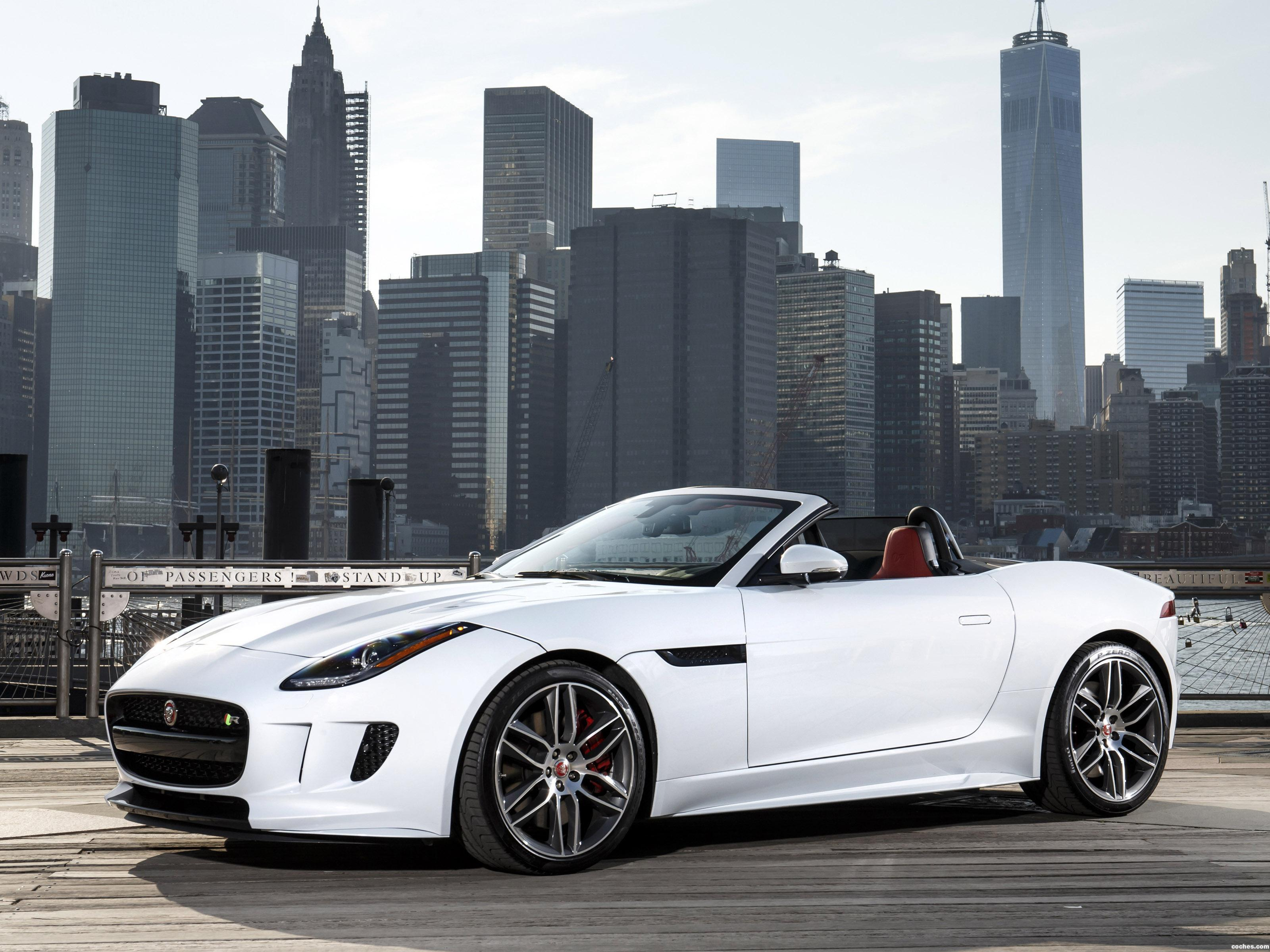 fotos de jaguar f type r convertible awd usa 2015. Black Bedroom Furniture Sets. Home Design Ideas