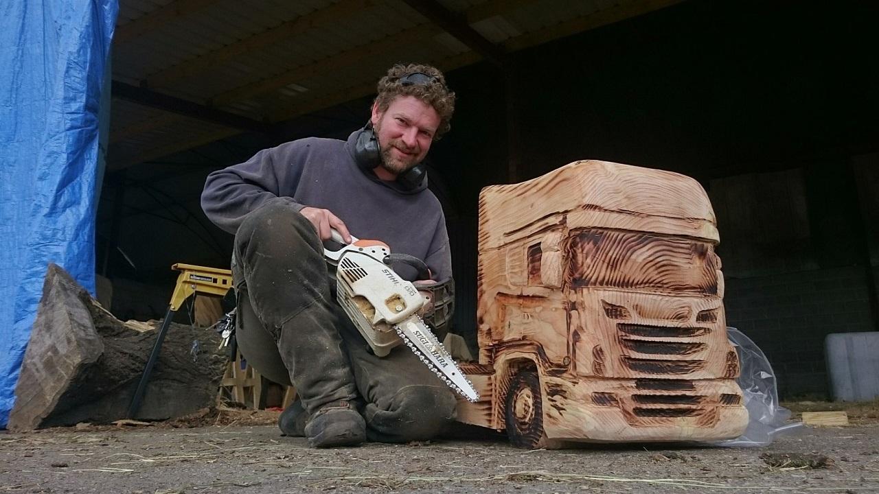 madera-camion