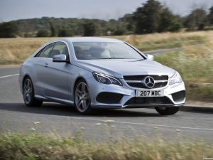 Mercedes Clase E E220 CDI Coupe AMG Sports Package C207 UK 2013