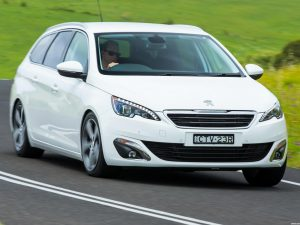 Peugeot 308 Touring Australia 2014