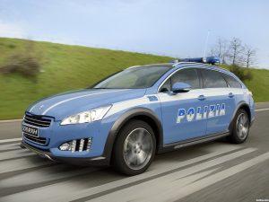 Peugeot 508 RXH Police Car 2014