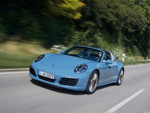 Porsche 911 Targa 4S Exclusive Design Edition 2016