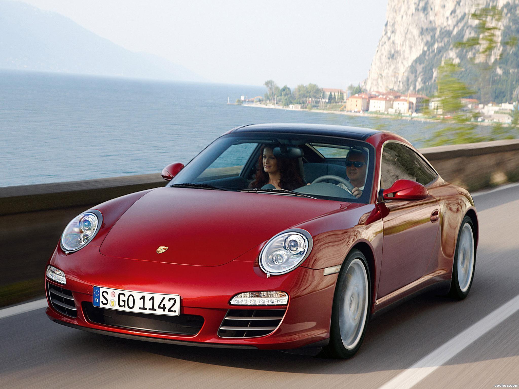Fotos De Porsche 911 Targa 4s 997 2008