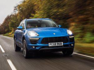 Porsche Macan S Diesel UK 2014
