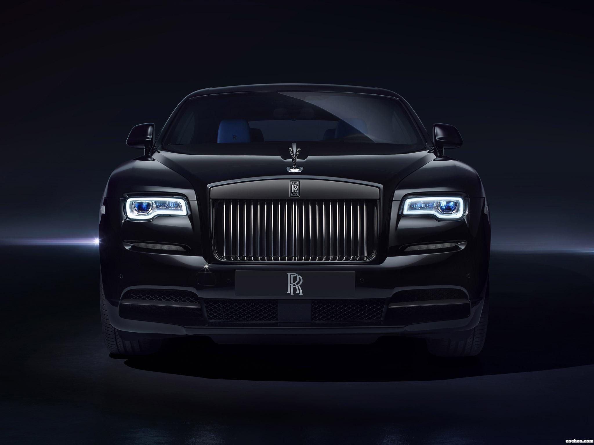 fotos de rolls royce wraith black badge 2016