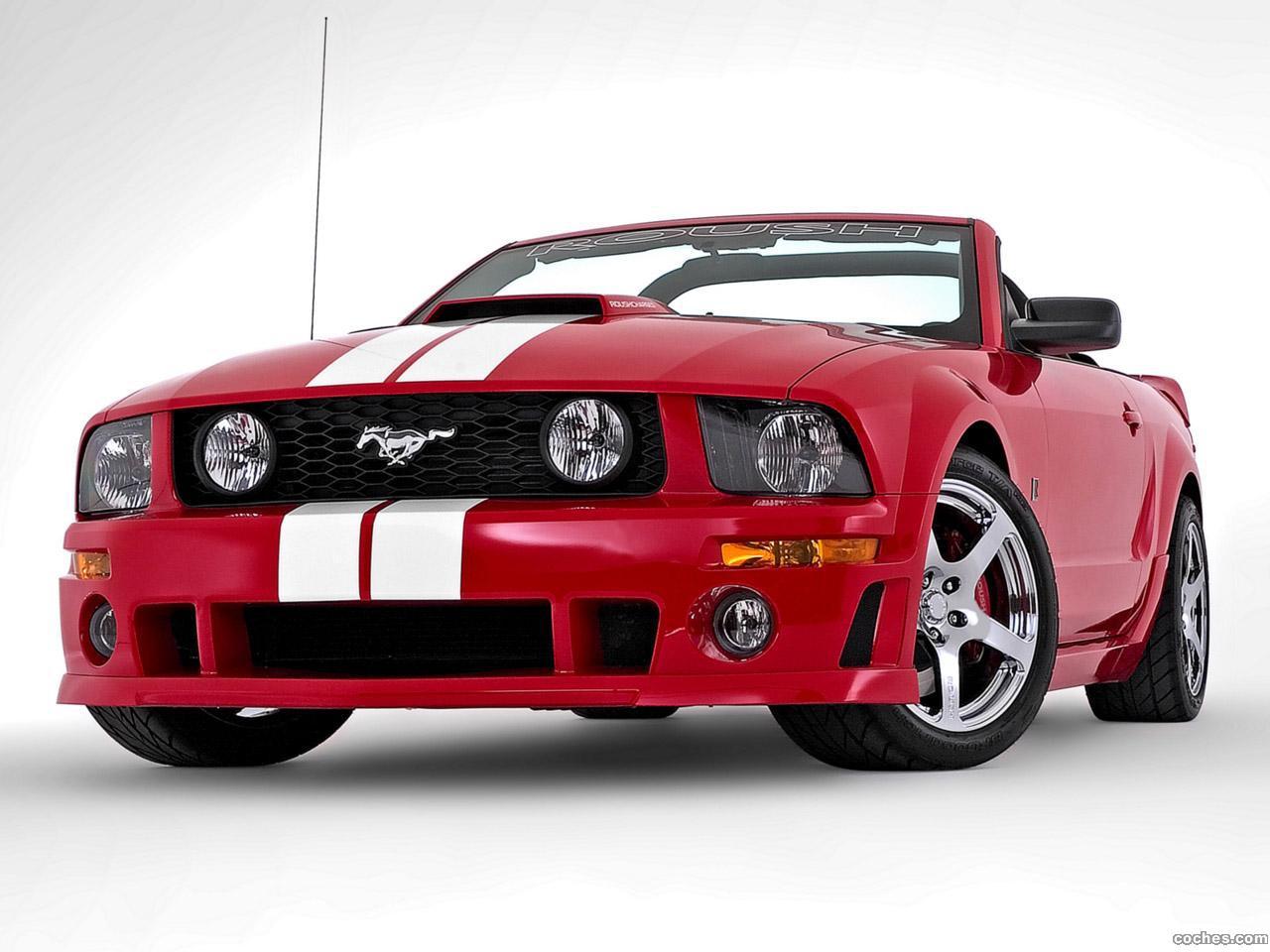 fotos de ford roush mustang stage 3 roadster 2006. Black Bedroom Furniture Sets. Home Design Ideas