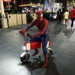 spiderman motochimp